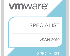 vSAN Specialist 2019 Badge