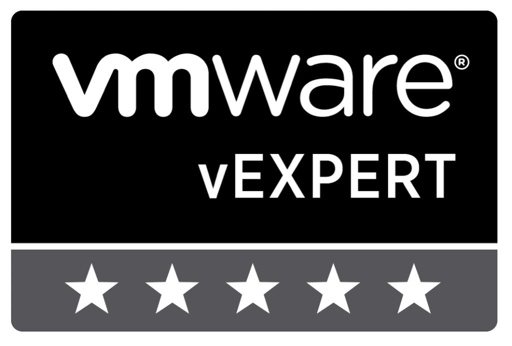 vExpert 5-stars