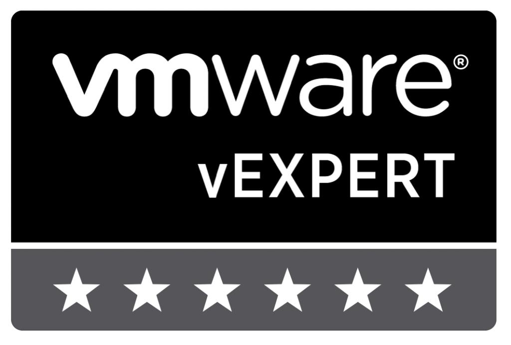 VMware vExpert 6-stars