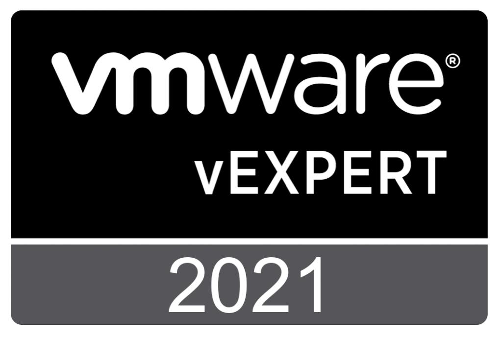 VMware vExpert 2021